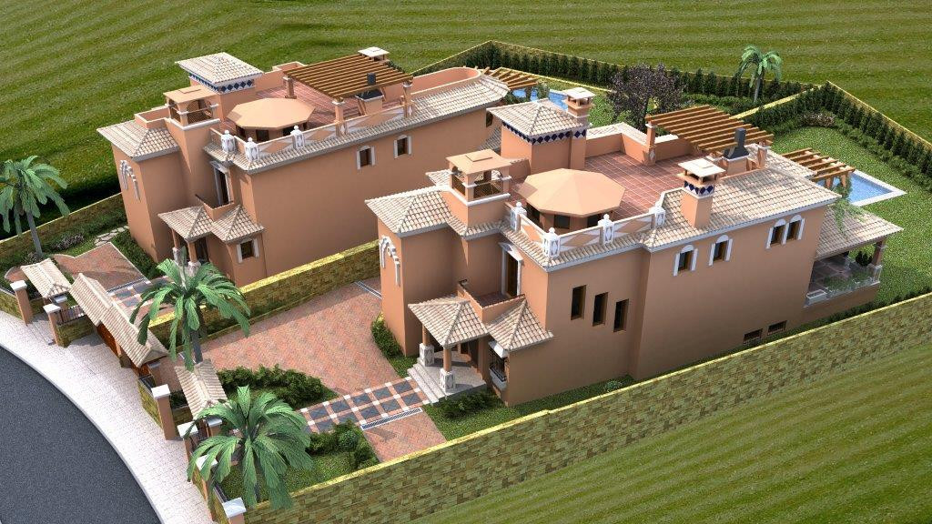 The ideal plot to construct a large family dwelling in a long established residential area on the so Spain