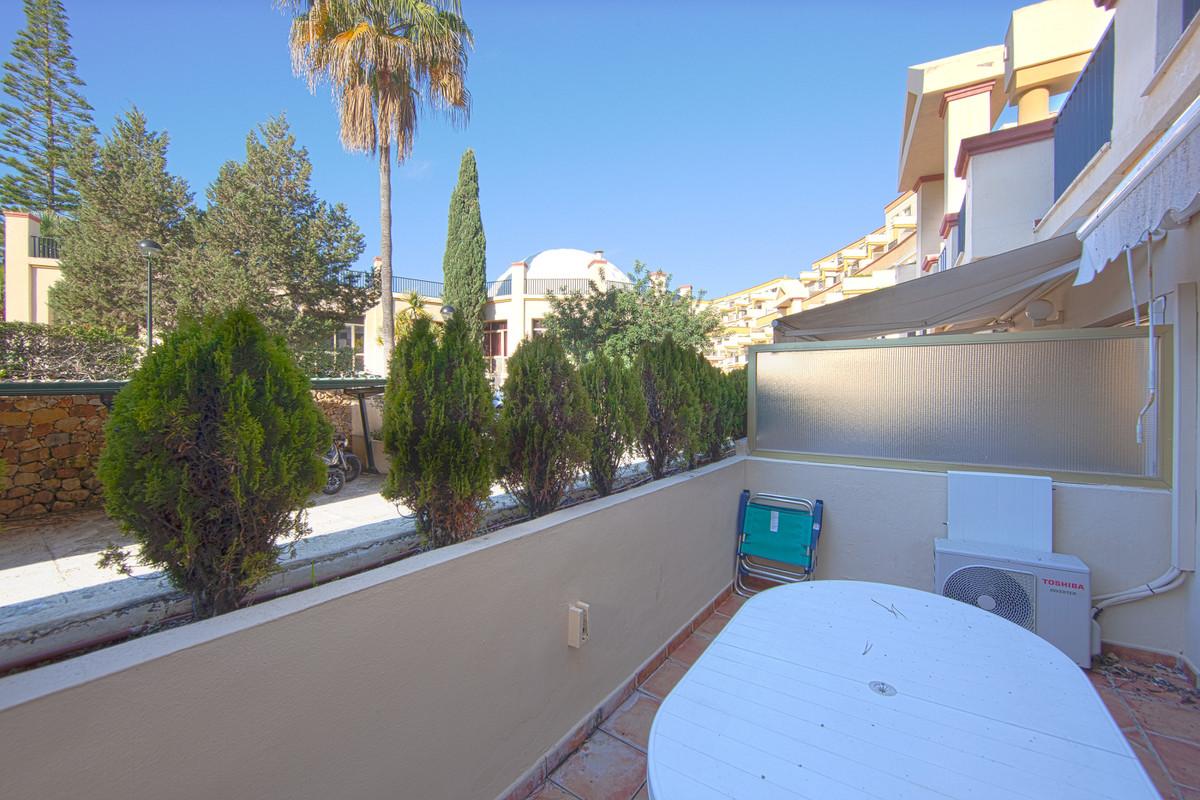 Ground Floor Studio, Elviria, Costa del Sol. Built 45 m², Terrace 10 m².  Setting : Beachfront, Beac,Spain