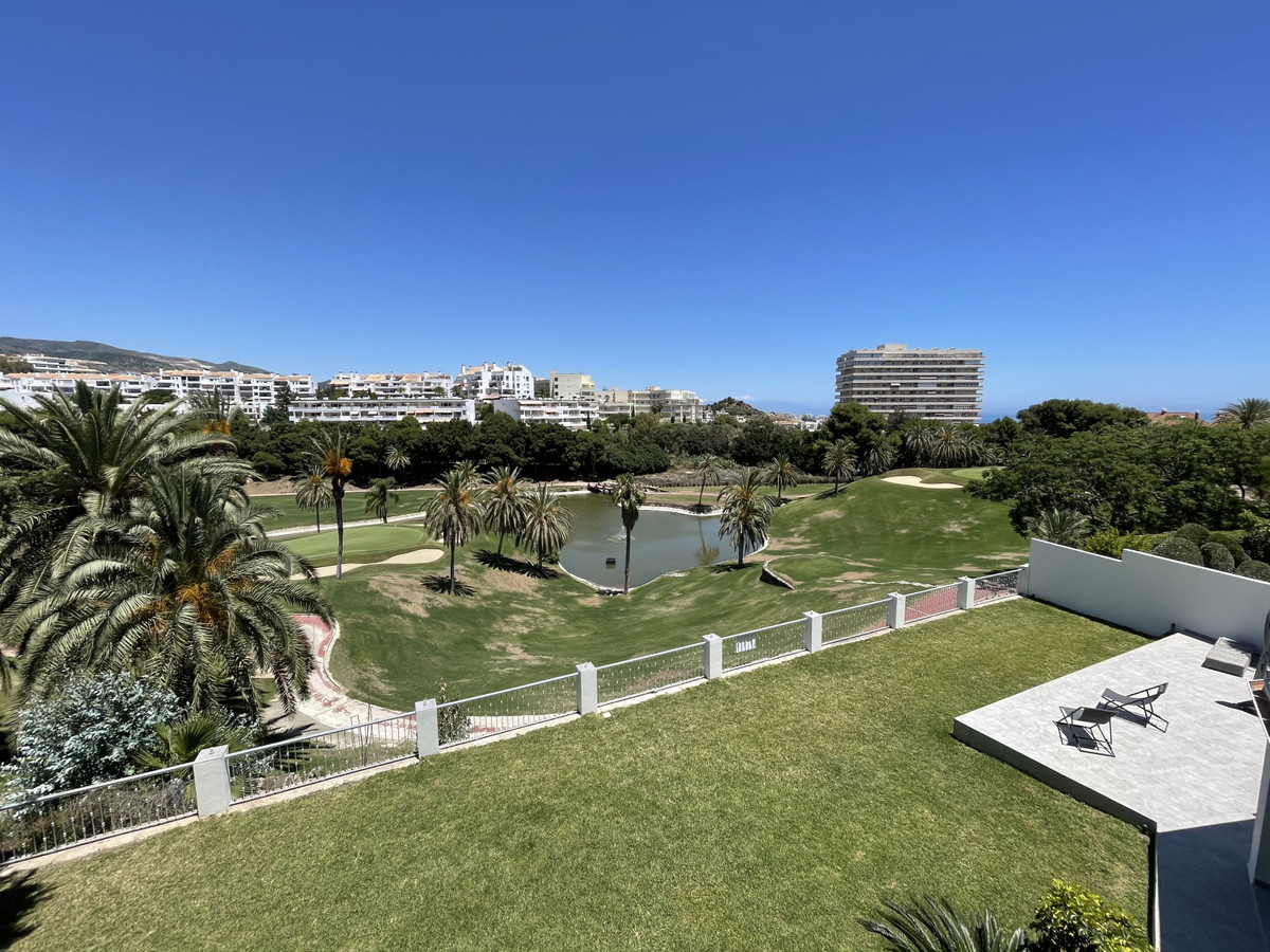 Stylish modern villa overlooking the golf course of Torrequebrada.  Recently been refurbished to the,Spain