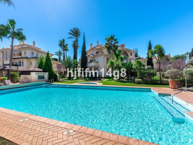 Spacious three bedroom ground floor apartment for sale in Las Alamandas, a luxury residential comple, Spain