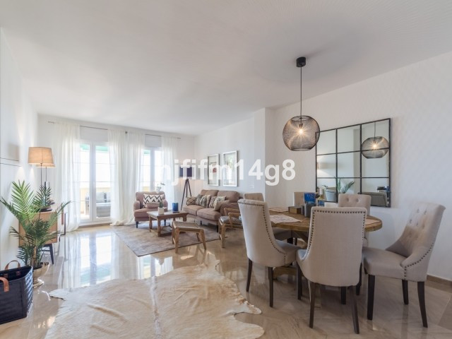 Three bedroom apartment with panoramic sea views for sale in Cumbres del Rodeo. The complex is situa,Spain