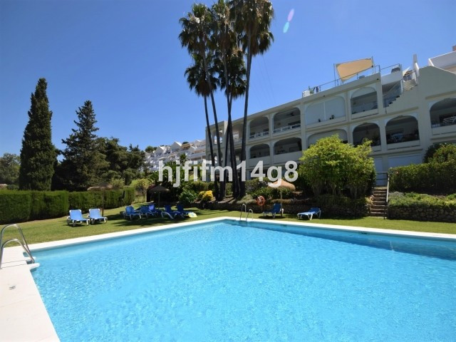 Spacious two bedroom apartment in a private residential complex situated just a short drive to San P,Spain