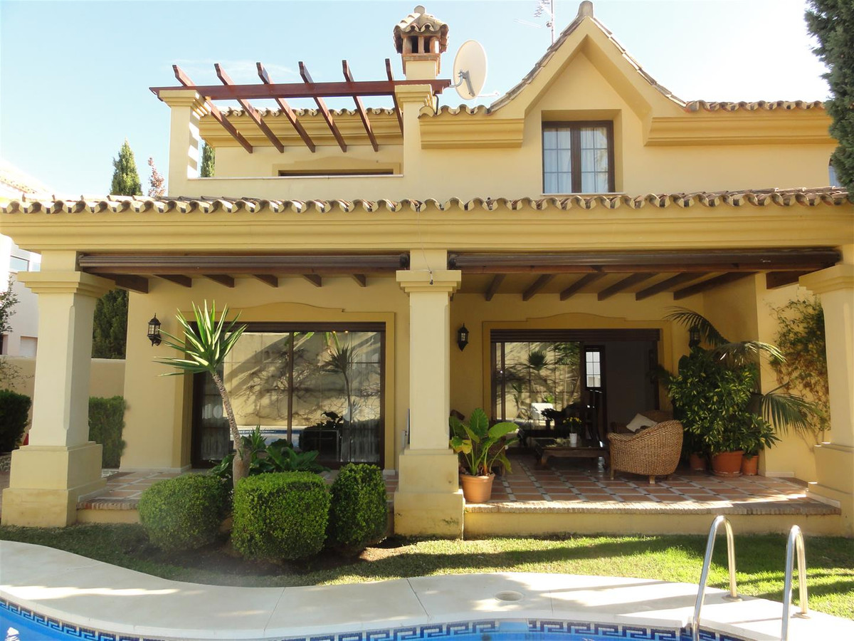 Beautiful villa located at the entrance to Puerto Banus, decorated with great love and taste.   The , Spain