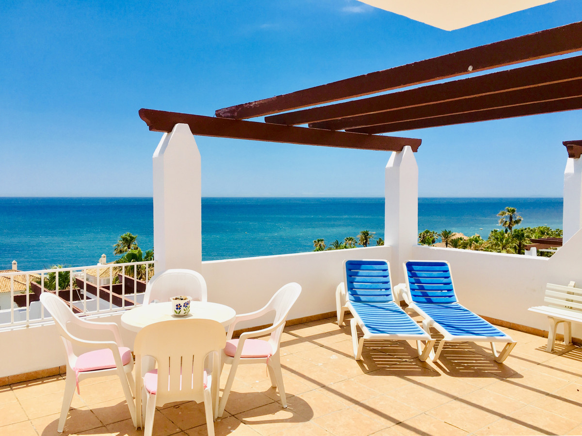 Super Views!!  Great apartment on the last floor of the block, with stunning views over the sea.  2 ,Spain