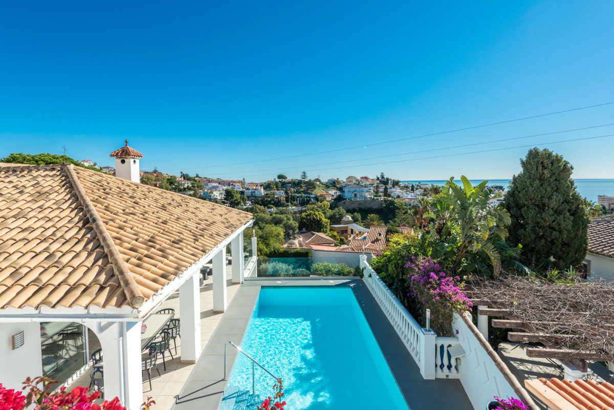 Fabulous detached villa with stunning sea views and absolute privacy! It is located in lower part of, Spain