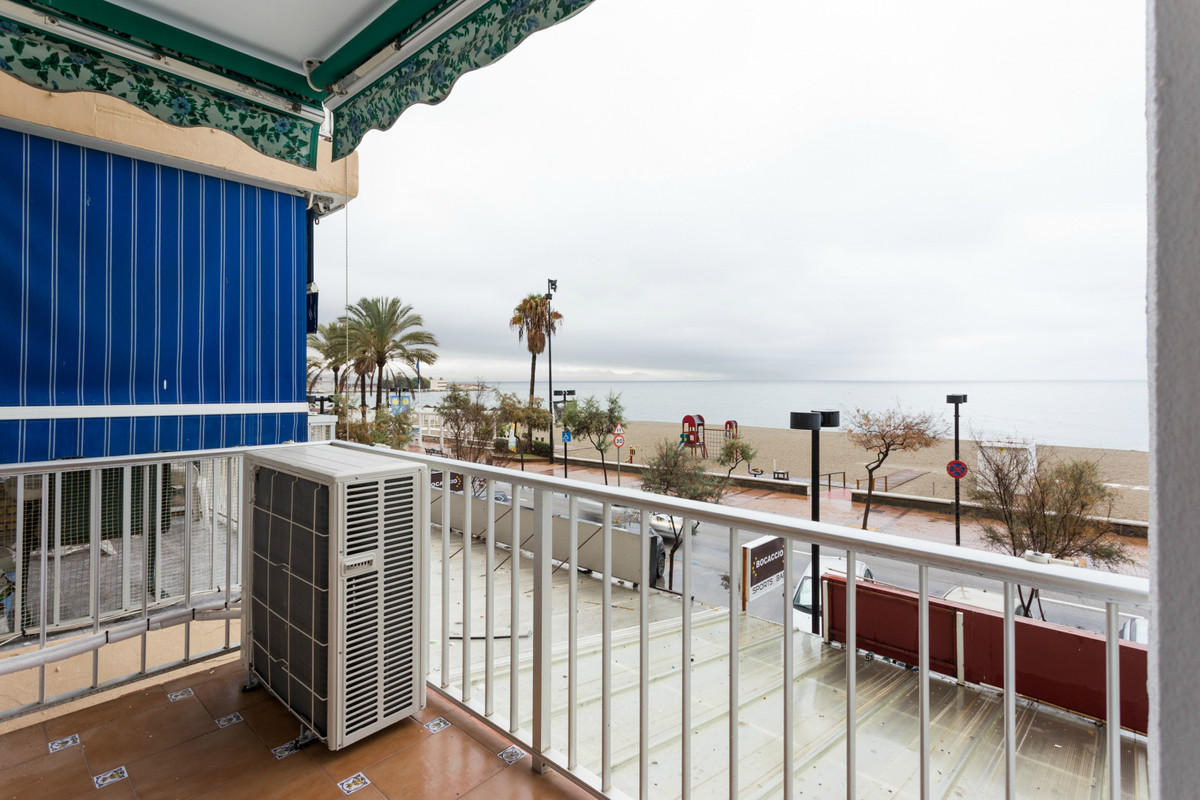 Nice apartment on the boardwalk in Fuengirola, only few steps to the beach with stunning sea views! , Spain
