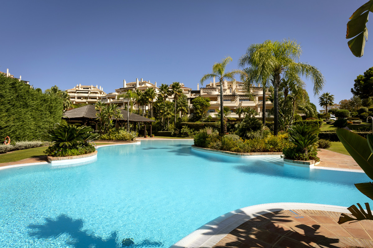 Exceptional and unique 4 bedroom apartment in Capanes del Golf, one of the most exclusive and popula, Spain