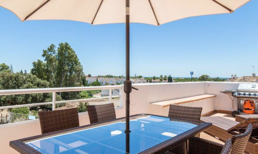 Stunning contemporary 3 bed duplex penthouse, South facing for all day sun on the terraces and wonde,Spain