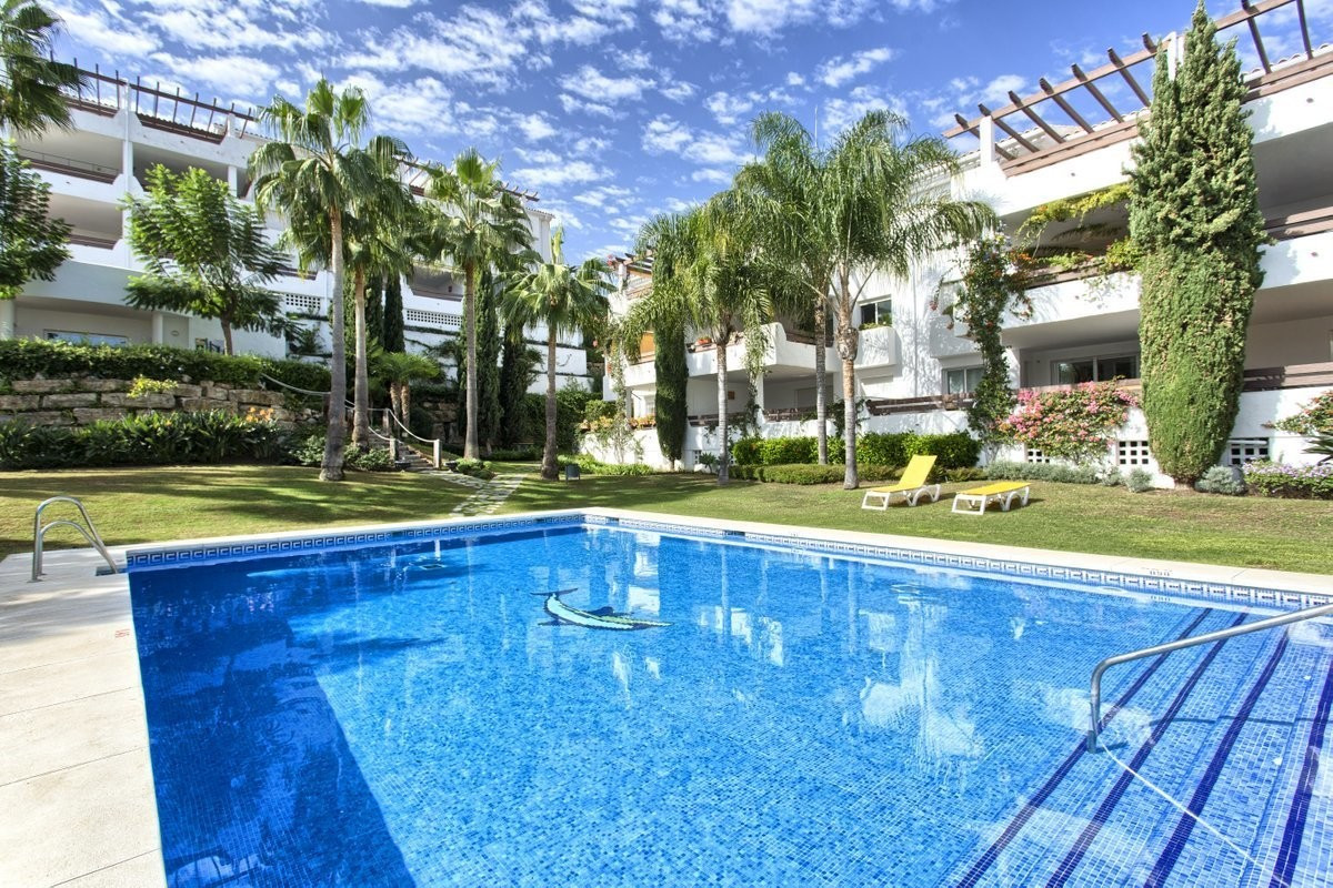 Elevated 2 bedroom ground floor apartment located in a small cosy community of just 32 units with at, Spain