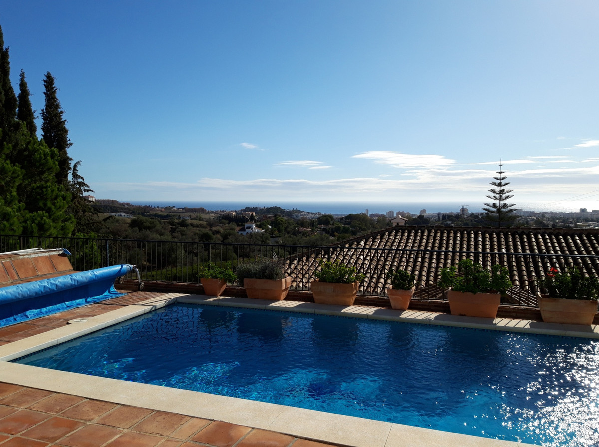 Very cozy Bungalow style villa, 3 bed + independent studio, panoramic views, close to Fuengirola.   ,Spain