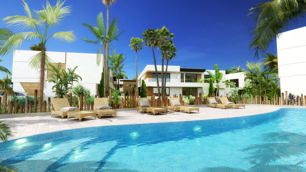 New Development: Prices from € 389,000 to € 395,000. [Beds: 2 - 2] [Baths: 3 - 3] [Built s,Spain