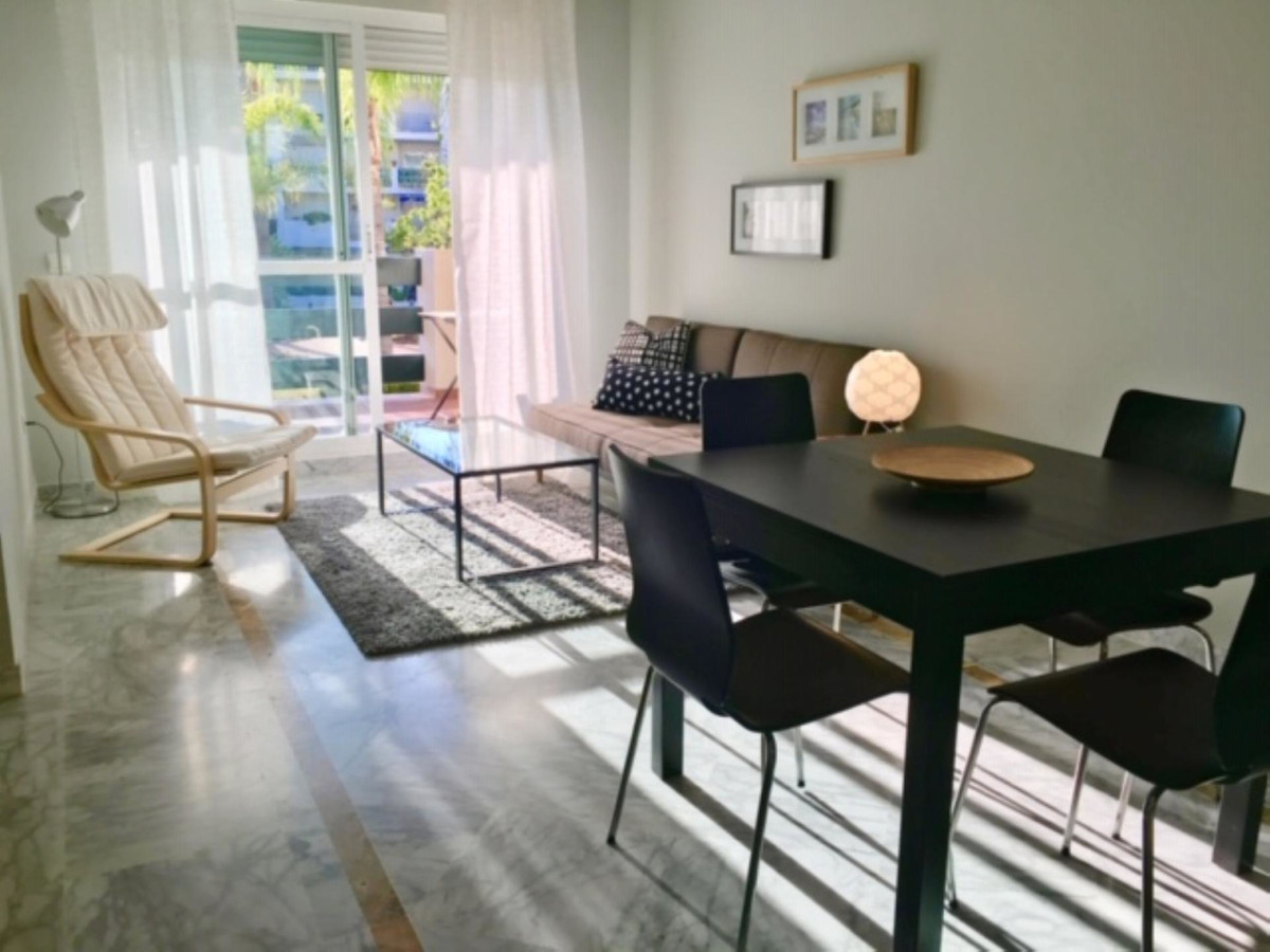 Located next to Puerto Banus, in Nueva Andalucia, this bright and spacious apartment is an ideal inv,Spain