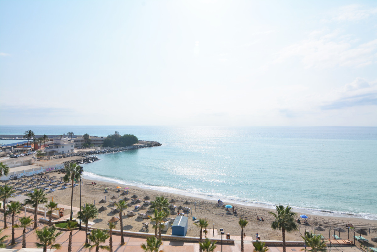 Beautiful apartment on the beachfront with stunning views of the sea.  The apartment has a large ent,Spain