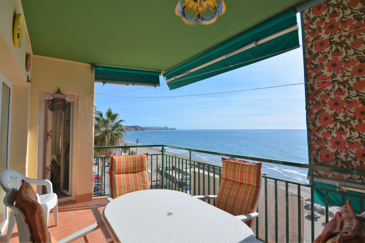 Beautiful apartment for sale on the beachfront  The apartment has magnificent panoramic views of the,Spain