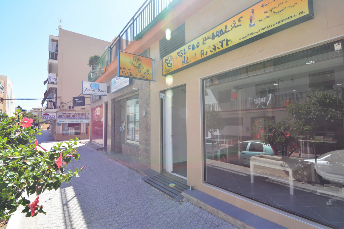 For sale spacious local one minute from the town hall of Fuengirola. Currently it is rented, very go, Spain