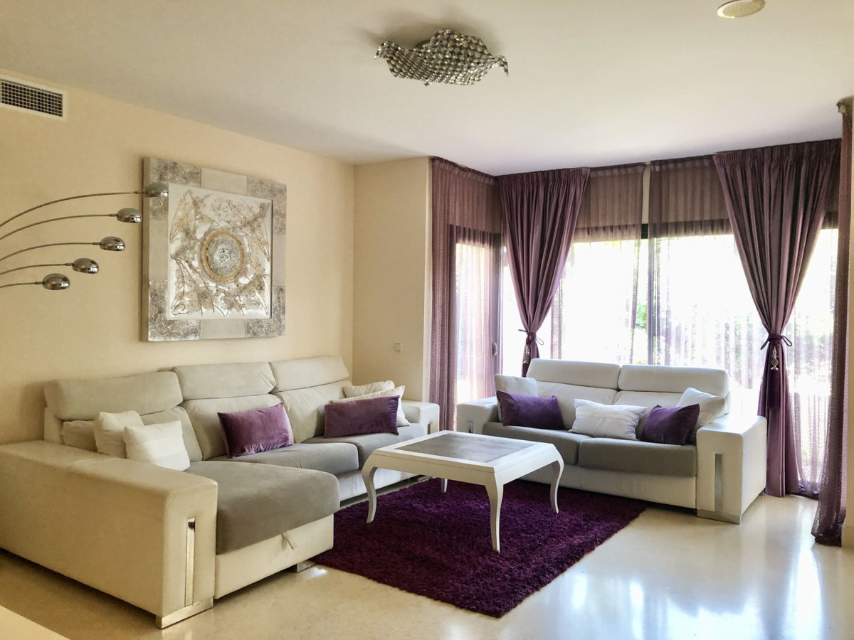 Spacious groundfloor apartment, located in prestigious gated complex Capanes del Golf, surrounded by,Spain
