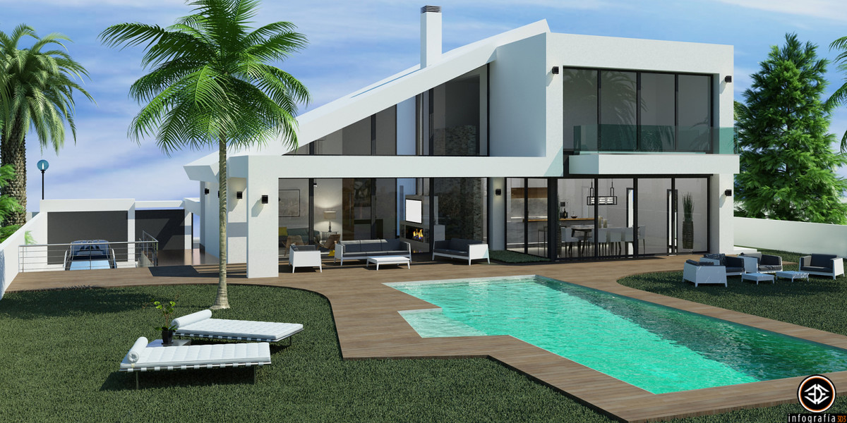 NEW BUILDING UNDER CONSTRUCTION Second Villa for Sale from the Developer LOS ROQUES DEL CHAPARRAL - , Spain
