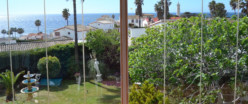 Stunning sea views from a beautiful villa, set in the Urbanisation of El Faro located between the id, Spain