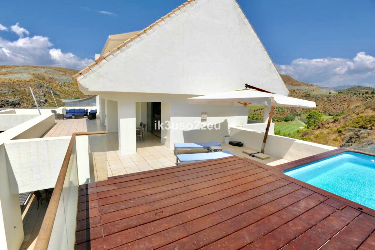 This penthouse is distributed on two floors and has terraces on each level. Interior surface 210m2. , Spain