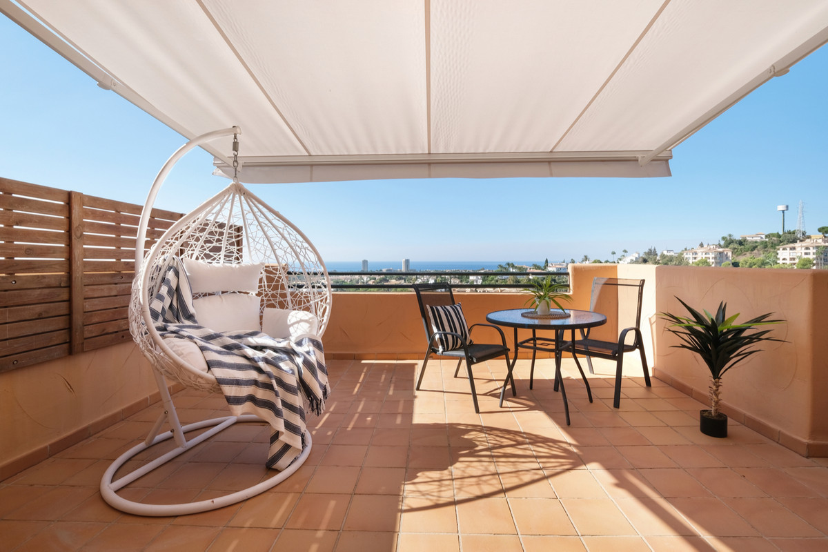 Stunning penthouse with spectacular panoramic sea views. A property filled with natural sunlight and,Spain