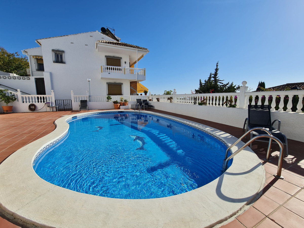 Beautiful semi-detached house in Benalmadena Pueblo, with sea views. The house completely renovated , Spain