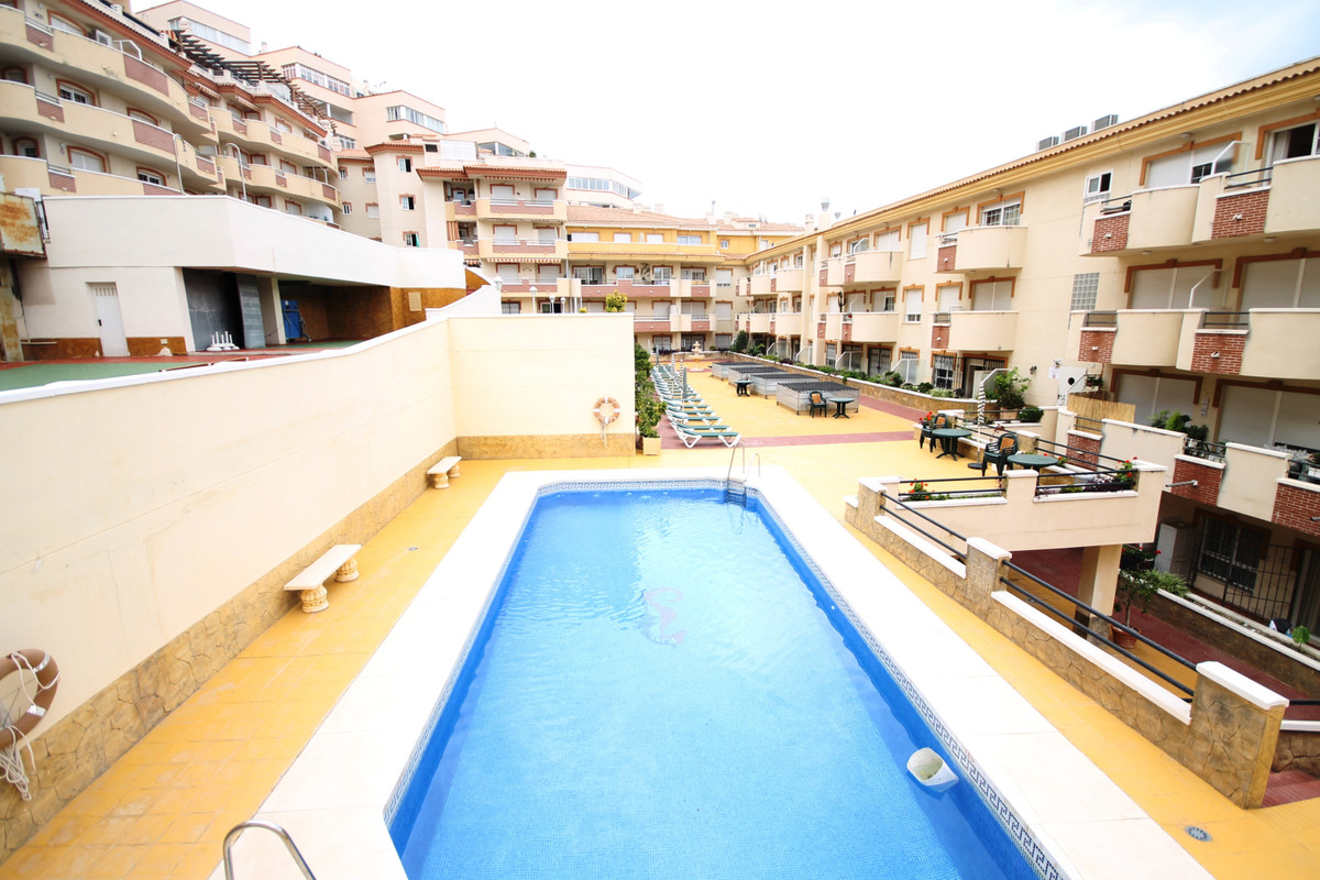 Large Penthouse / Duplex in Complex on the beachfront, Benalmadena Costa. Luxury property with sea v,Spain