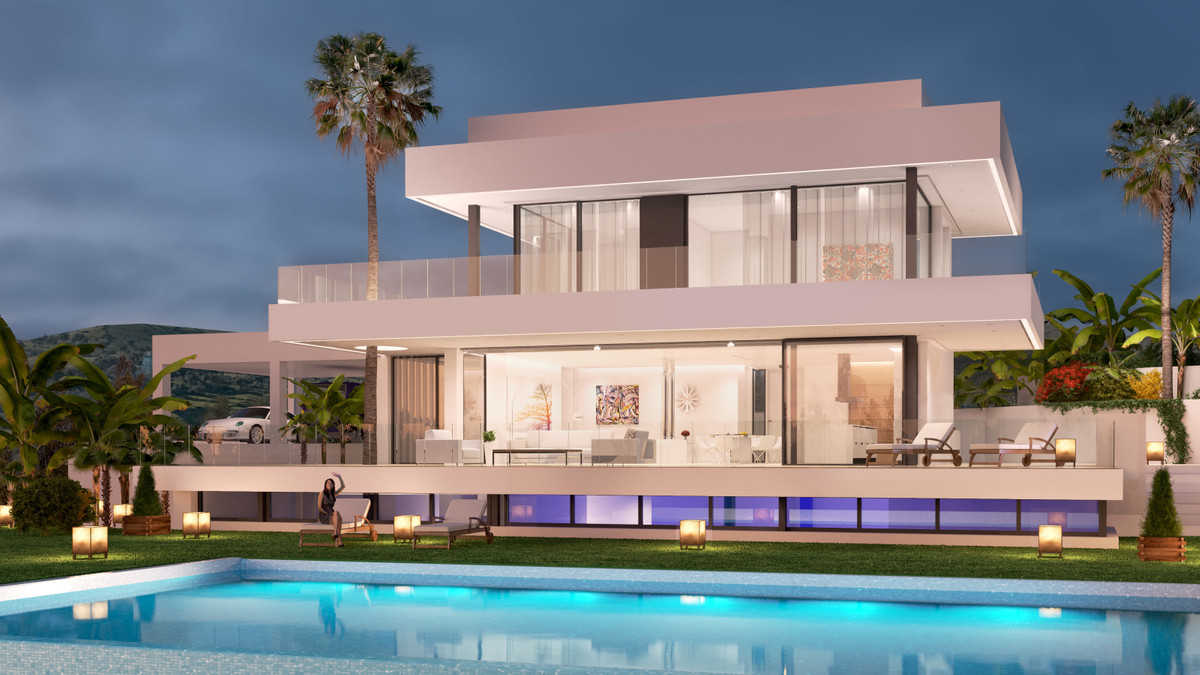 Amapura comprises 5 spacious detached villas located in the most luxurious and demanded area of Marb, Spain