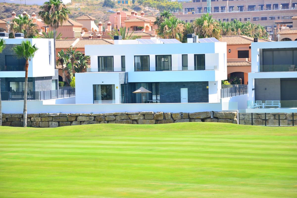 Beautiful brand new contemporary villa on first line golf in La Noria Golf,  La Cala. This villa has,Spain
