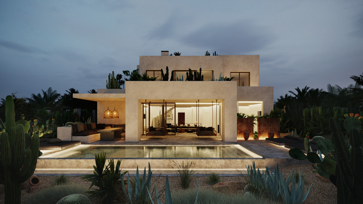 Currently one of the few new built property in Los Monteros, this wonderful villa stands out for the Spain