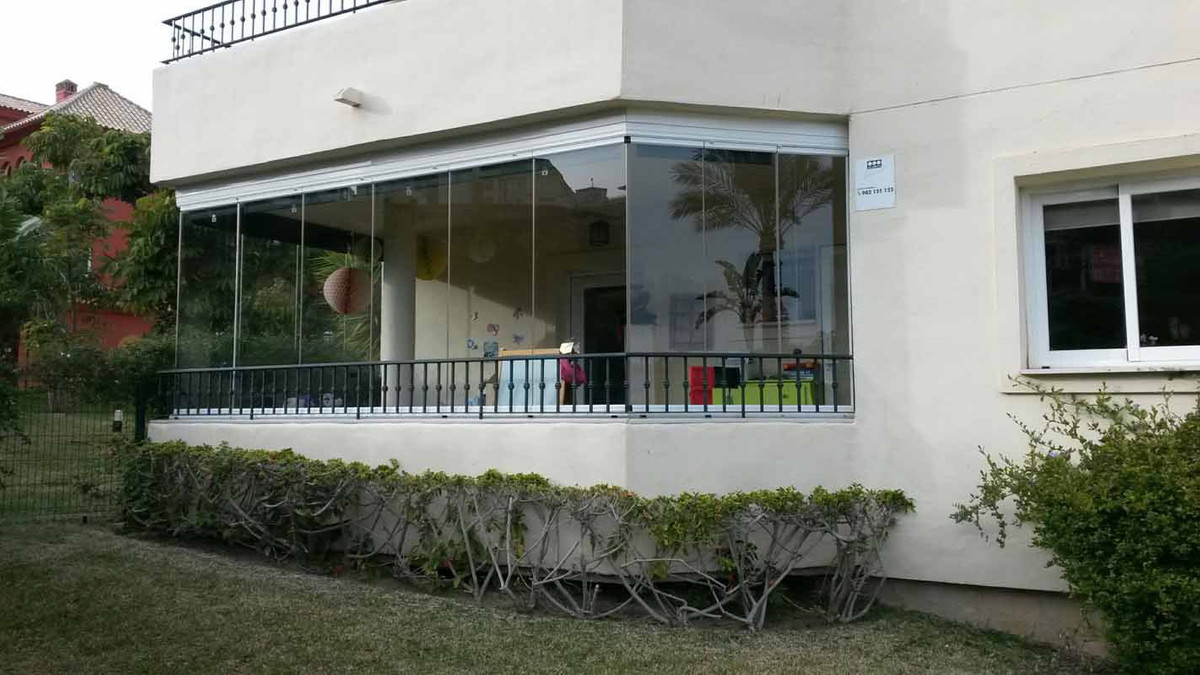 Beautiful ground floor apartment with 2 bedrooms and 2 bathrooms. Inside is 120 m2, and 2 terraces o, Spain