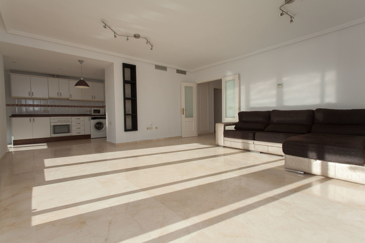 Gorgeous spacious and bright 3 bedroom 2 bathroom first line golf apartment with big terrace in the ,Spain