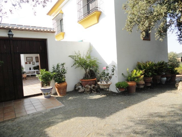 5 BEDROOM FINCA WITH STABLES SET IN 50,OOOm WITH OAK WOODS AND OLIVES GROVES IN THE STUNNING SIERRA ,Spain