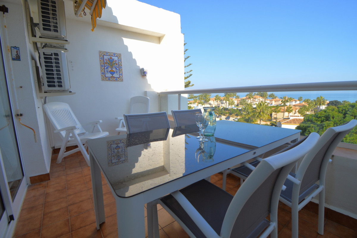 "Modern, spacious 1 bedroom apartment situated on the popular Club la Costa Marina del Sol resort!  This unit offers air conditioning throughout (heating and cooling), easy parking, private balcony with beautiful panoramic sea views, double bedroom + sofa bed in lounge area (sleeps up to 4), fully equipped kitchen, spacious lounge area and comfortable double bed! There is also garage parking with lift access direct up to the apartment.   You have full use of the facilities on the urbanisation which includes multiple swimming pools (there is always a heated pool in Winter months as well), various shops, a bakery, bars (with entertainment on) and several fantastic restaurants! During the summer and school holidays there will be a Childrens Camp celebrated and yes, your children can participate after paying a small extra fee to reception! Outside of school holiday periods and Summer, the childrens club is not available.  There is a small free to use ""train/bus"" service running around the complex, meaning it's easy to get about. The house is located just a few minutes walk from the beach and main bus route between the resort towns of Fuengirola and la Cala de Mijas as well!     **We also have 4 studios in a nearby block of Club la Costa, so if you are a larger group, up to 20 guests can be accommodated (recommended 10 adults 10 kids) at the same time, in basically the same place!! We also have two 4 bedroom houses available for rent in the same section of Club la Costa around the corner (using the same pool). We have accommodation therefore for groups of up to 36 guests on Club la Costa within a couple minutes walk of each property. Note that this is availability dependent as each unit is also rented individually for different periods.**     Information on Club la Costa resort facilities and services (of which you are able to make use during your stay!):     Centred around beautifully planted and intensely colourful sub-tropical gardens and beautiful swimming pools.  Across the many restaurants found on our family resorts in Fuengirola, the presentation skills of culinary experts ensure dishes are a feast for the eyes, not just the taste buds.  For relaxed, casual dining there's nowhere better than Zacary's Restaurant & Cocktail Bar. From soups and salads to burgers and vegetarian lasagne, there's something for everyone. There's also an all-day pizza menu which is served at the table or can be ordered to take away.  Even if you choose to dine out at Safari restaurant, or Sam's Pantry instead - all eateries at Club La Costa World are family-friendly and cater for even the pickiest of palates.  not only does the resort have an indoor fitness suite, complete with cardio and weight equipment, we have an aerobic studio and to help you unwind and relax after your workout, the resort also has a sauna and a full list of indulgent treatments to choose from.*  * A small fee applies to use the gym, payable at reception areas.  While we understand that spending quality time with the kids is at the heart of any memorable family holiday, should you wish to have some downtime of an evening, Team Marina is to hand. We offer supervised fun as part of our Miniclub for 4-11year olds, and for the olders ones there's Waves, with VR, PS4 and super-fast Wifi, so parents can rest assured their youngsters are being looked after and enjoying their holidays to the full. Our team of entertainers also organise everything from a mellow game of mini-golf or Flamenco dance classes, to aqua sports and cabaret nights.  Activities and timetable vary depending on the time of year.  From an indulgent aromatherapy massage to feasting at Zacary's Restaurant & Cocktail Bar, CLC Marina del Sol has a full range of resort activities that will appeal to everyone. Younger members of the family will love the Kids' Club, splashing around in the children's pool, and the resort road train. For guests preferring to relax away from the bar, terrace and restaurant - get ready to take in the stunning views of the Mediterranean coastline.  Situated next door to Marina del Sol reception is Sam's Pantry, a shop selling a wide range of sundry items, newspapers, magazines and a selection of food and drinks.  There is a small bus/train which runs around the resort and you are able to jump on and off it at will, an easy way to get around and visit the various restaurants dotted around the site.  Nearby you also have the main bus route running between Fuengirola and Marbella, also stopping at popular towns like la Cala de Mijas!     Property License: CTC-2019014204"