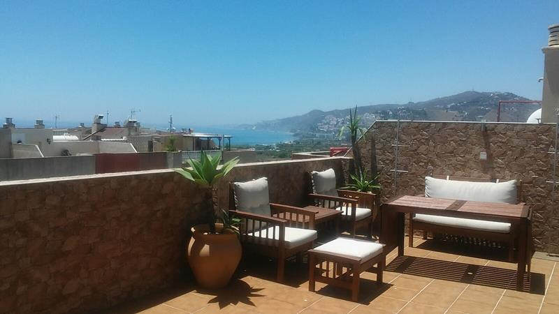 South facing modern penthouse in Nerja offering sea and mountain views; decorated tastefully and sol, Spain