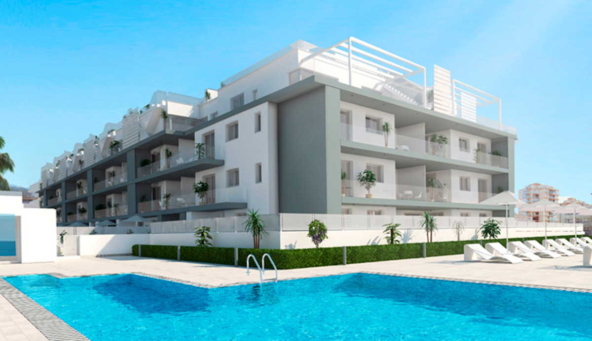 Frontline beach complex. LAST ONE AVAILABLE!!!!  2 bed. 2 bath penthouse on a very exclusive complex,Spain