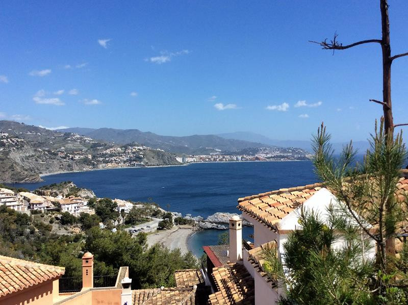 Punta de la Mona is one of the most exclusive and sought after areas in La Herradura, from its cliff, Spain