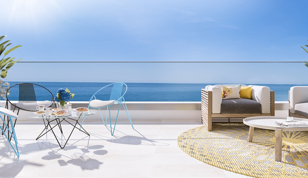 Torrox Costa has the best climate in Europe.  SeaLine is a new development with 23 apartments in totSpain