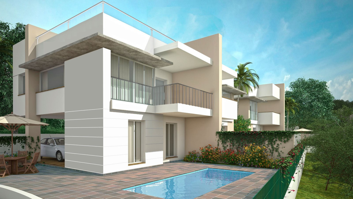 Semi Detached House in Nerja, New promotion of four villas for sale with an exquisite design in Capi,Spain