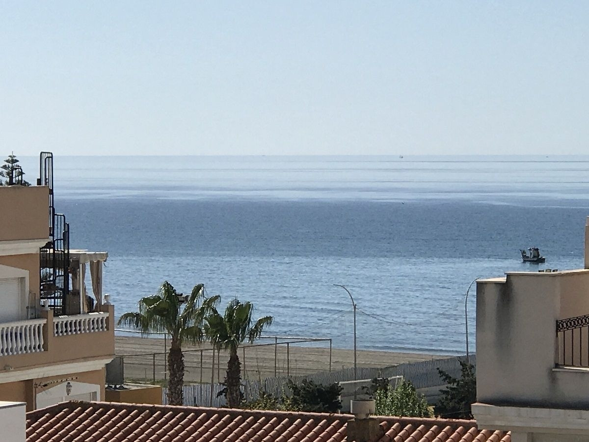 Three bedroom penthouse apartment 100 meters from the beach with very large private roof terrace wit, Spain