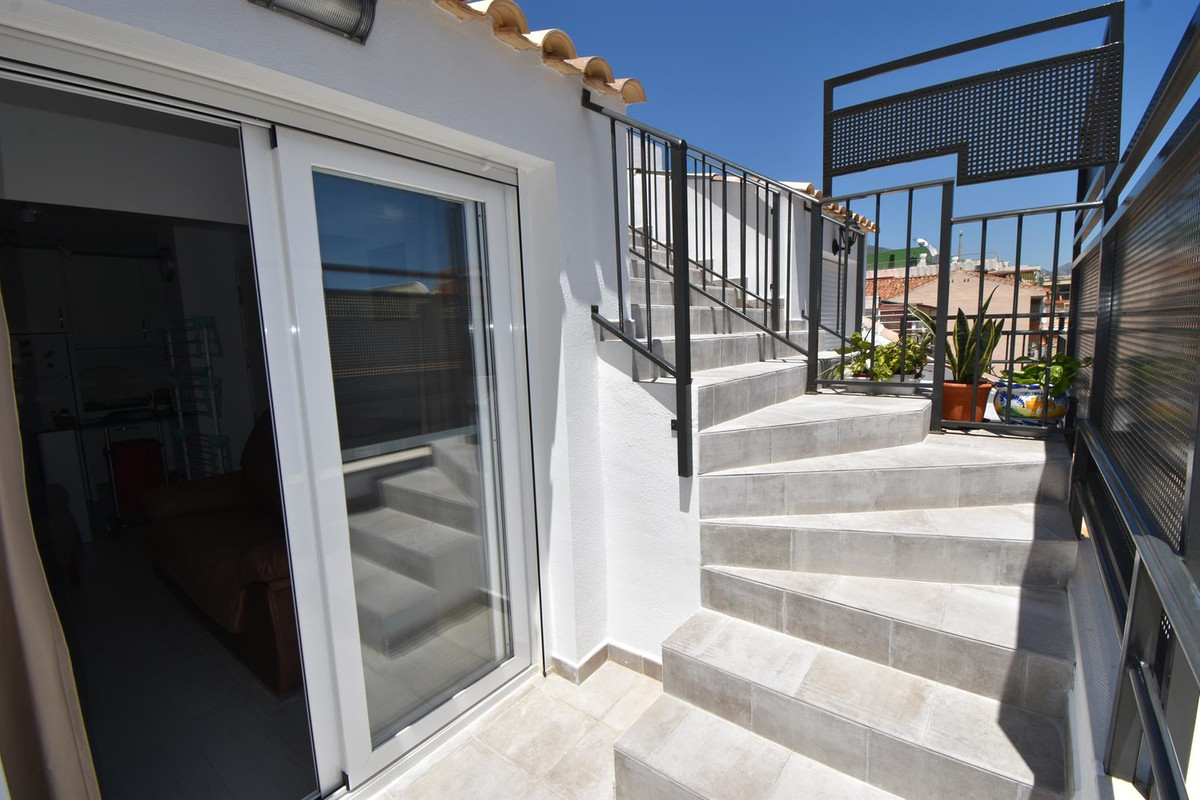Beachside penthouse apartment in the centre of Fuengirola  With rooftop terrace overlooking the sea,,Spain