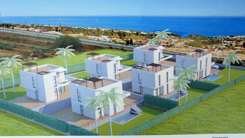 Located just 50km from Malaga, Nerja is one of the main cities in Costa del Sol. The 1350m2 plot is ,Spain