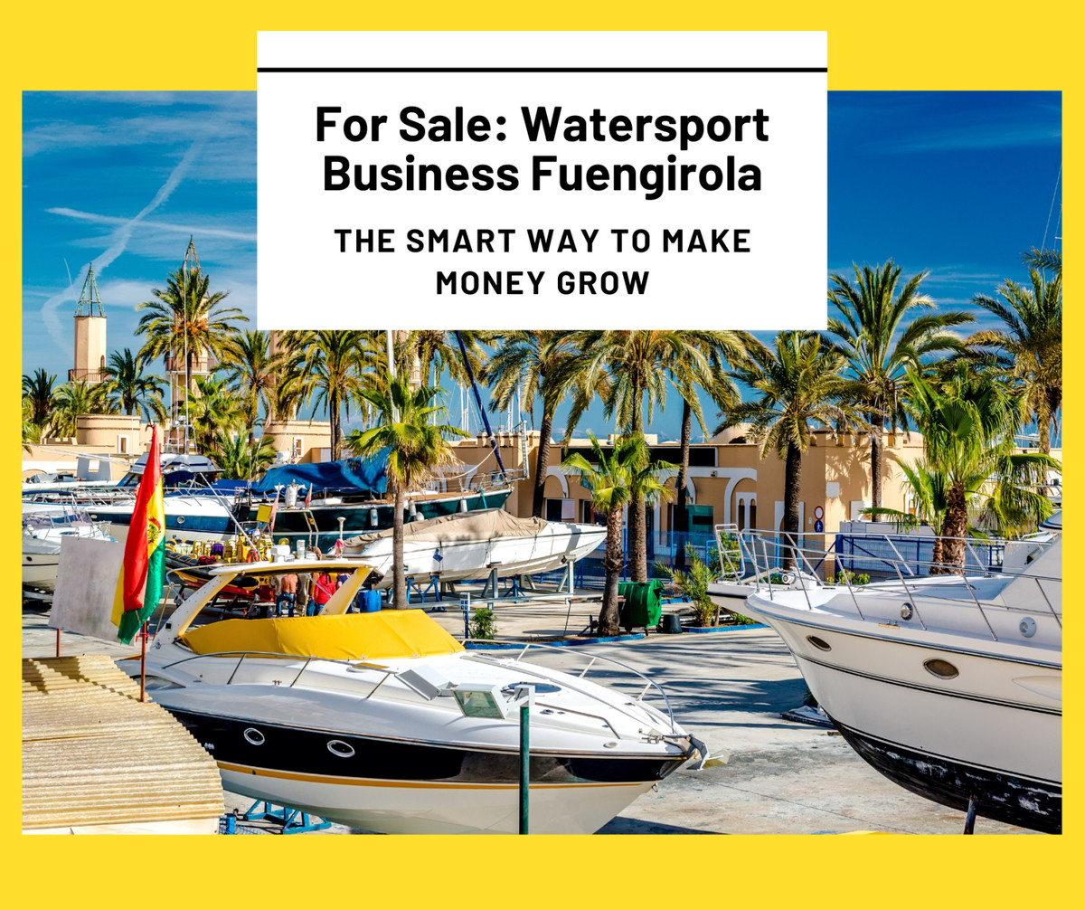 €100,000 Price Reduction... A Rare Investment Opportunity: A Fully Licensed Watersports Company in F, Spain