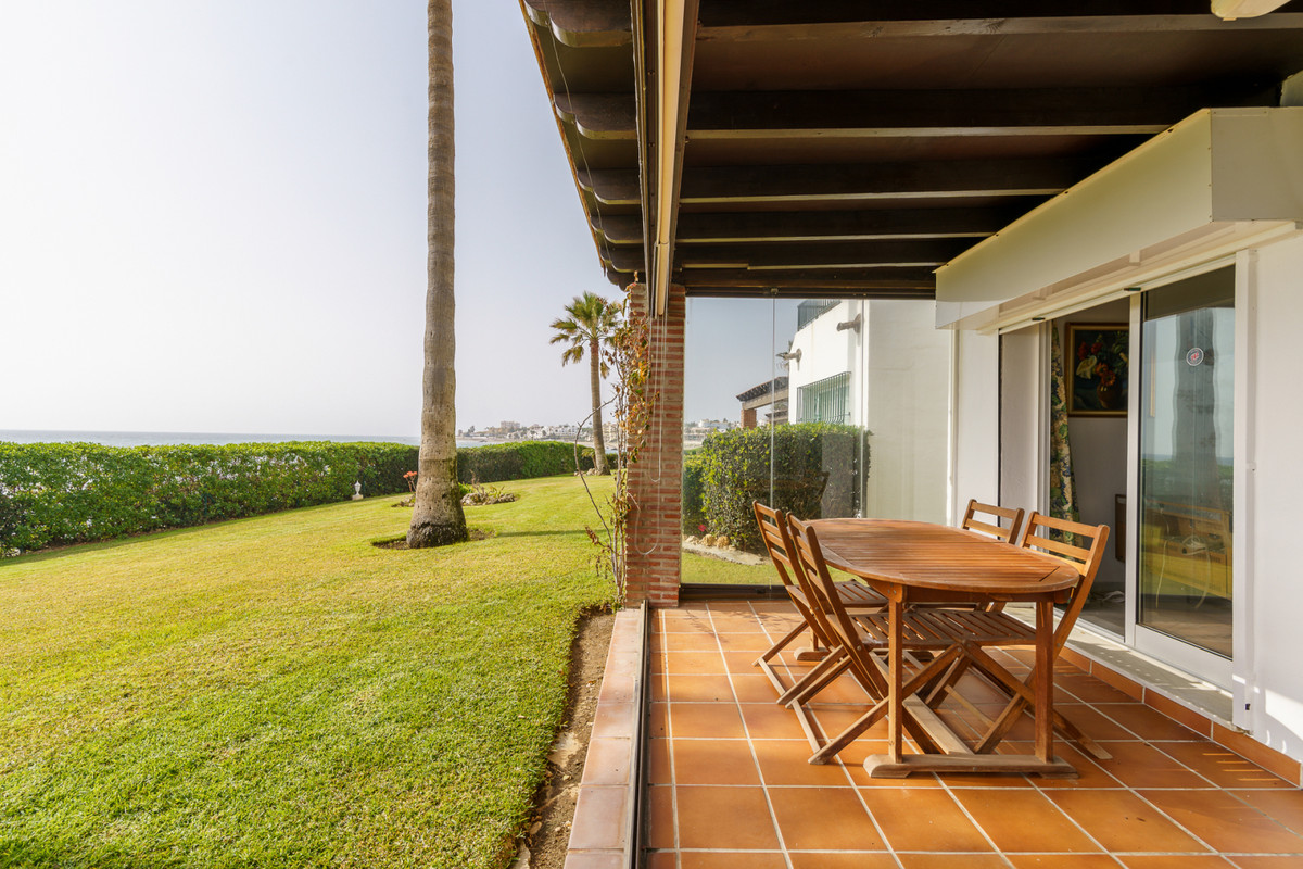 A rare opportunity to purchase a First Line Beach Townhouse!! The property is a 15 minute walk to La,Spain