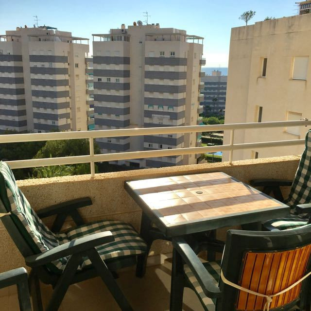2 bedroom apartment at 100 meters from the beach of Muchavista with pool, terrace and sea view!  Thi,Spain