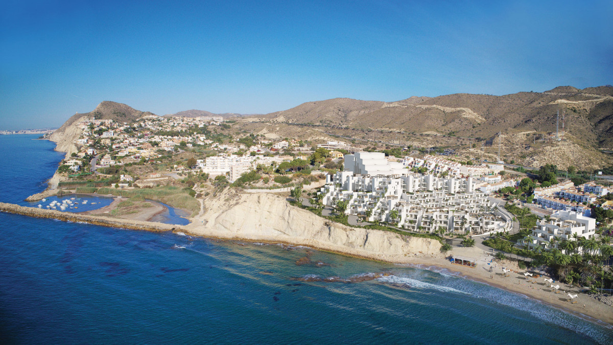 Luxury beachfront apartment in El Campello.  A one bedroom apartment which is located directly on a , Spain