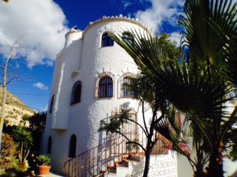 3 Bedroom  villa 1982 on three floors in Northern Campello with two self contained flats.  On the gr,Spain