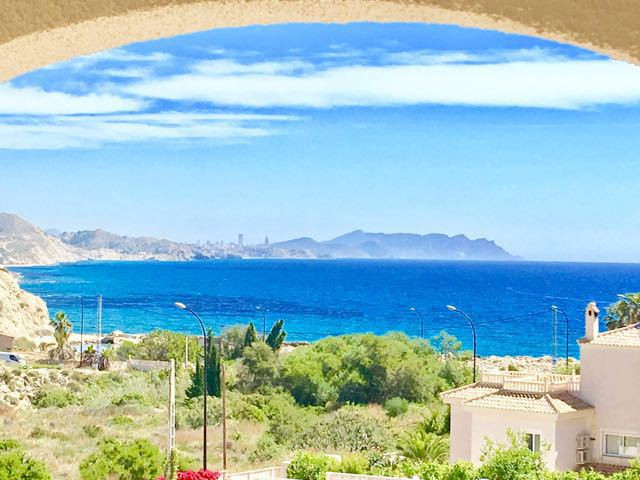 3 bedroon villa with extraordinary, picturesque, sea views on substantial landscaped plot.  1982 vil,Spain