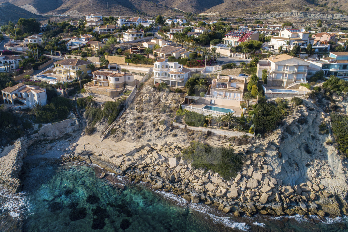 Seafront, Detached Villa, El Campello, Costa Blanca with direct access to cove and unbeatable views.,Spain