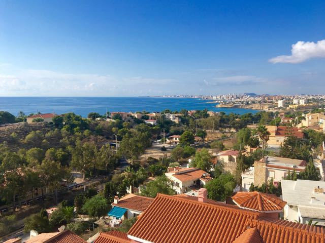 Impecable, 4 bedroom villa with unsurpassable views of the sea from all floors, very near Campello c, Spain