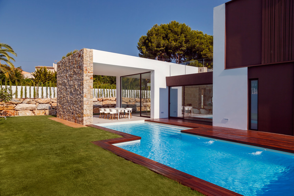 Exclusive, contemporary, detached villa just 3 minutes from Moraira village and the beach, Costa Bla, Spain